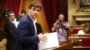 El presidente del grupo parlamentario de ERC en el Parlament, Sergi Sabrià.