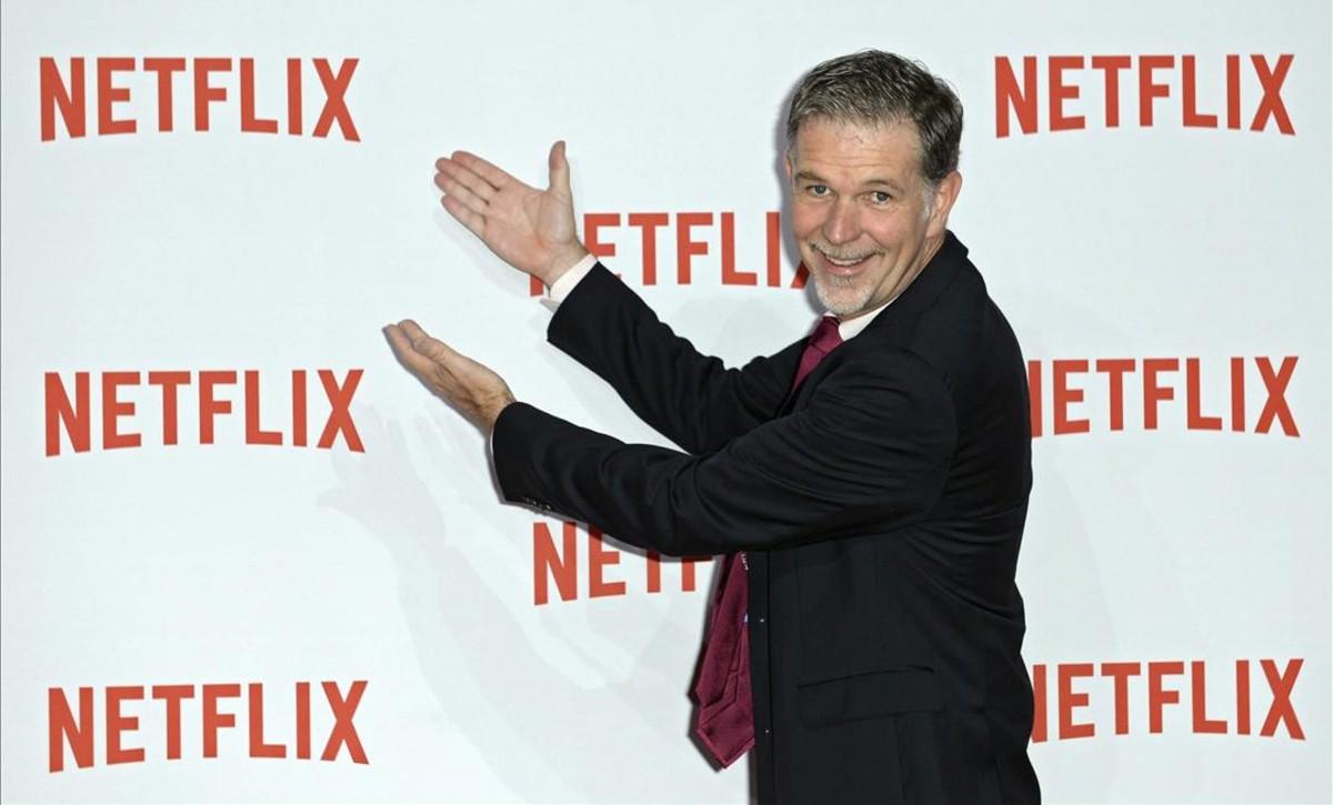 Reed Hastings, consejero delegado de Netflix.
