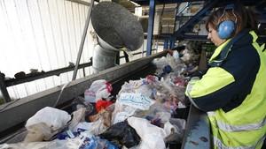 Centro de tratamiento de residuos en Santa Maria de Palautordera.