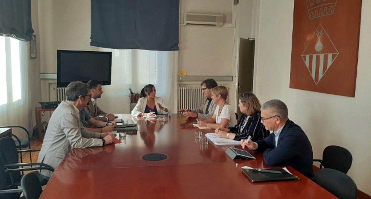 Ajuntament de Sabadell i Generalitat acosten actituds en l'avaluació dels pisos de Merinals