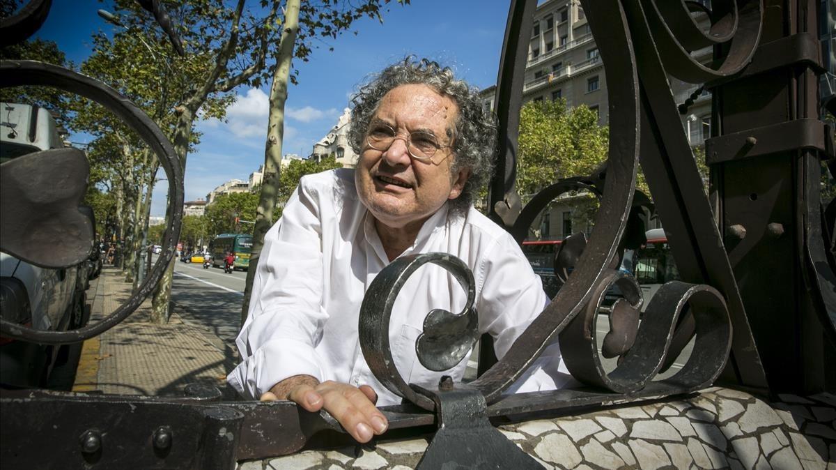 Ricardo Piglia, en Barcelona, en el 2013.