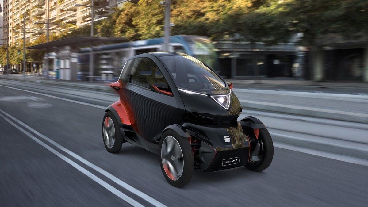 Seat Minimó, propuesta de micromovilidad urbana.