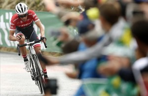 Contador és incombustible, i Froome, humà, a la Vuelta a Espanya