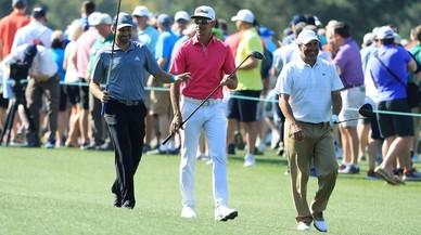 Sergio García defiende título en Augusta con toda la atención sobre Tiger Woods