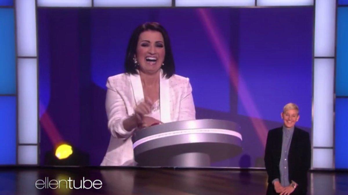 Silvia Abril aparece por sorpresa en el programa de Ellen DeGeneres en EE.UU.