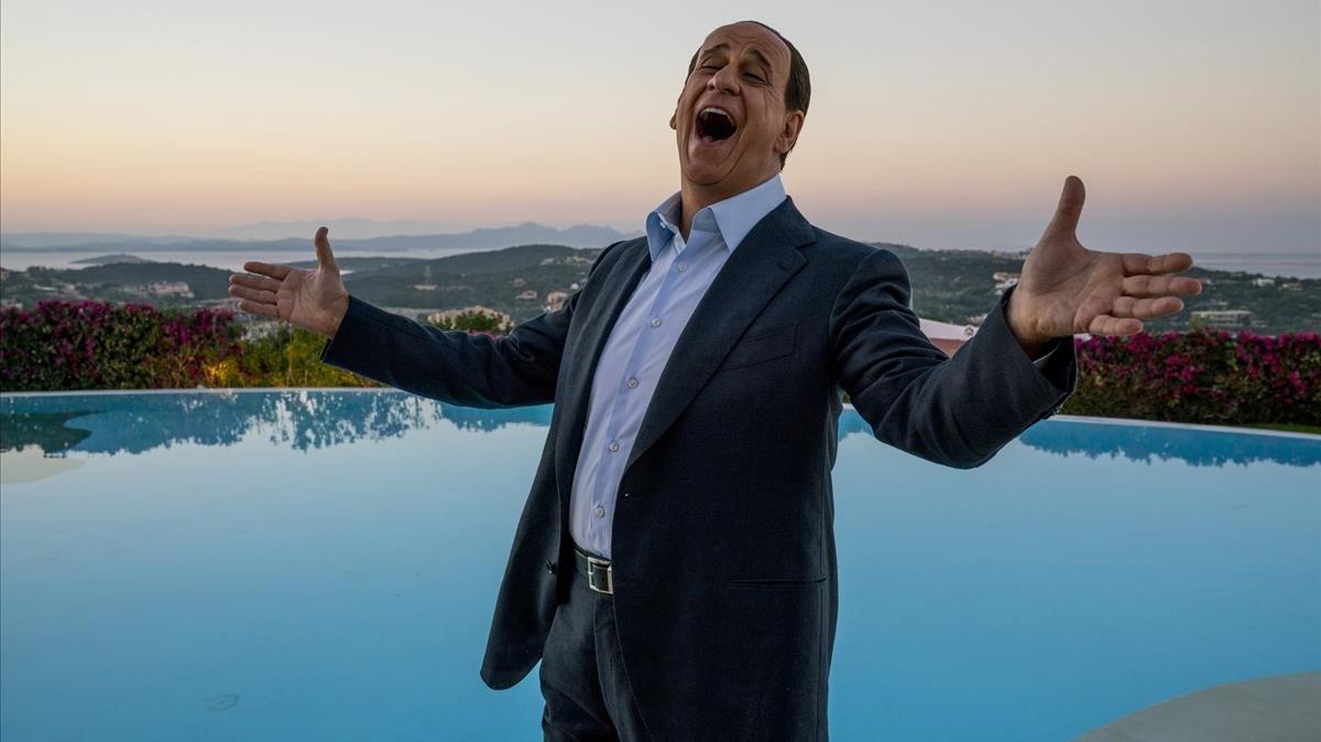 Toni Servillo en la piel de Silvio Berlusconi.