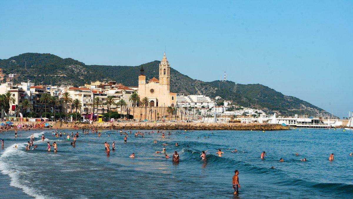 Sitges, uno de los municipios con apenas covid-19.