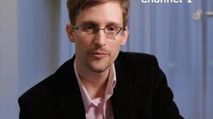 Snowden, en una entrevista reciente a una cadena británica.