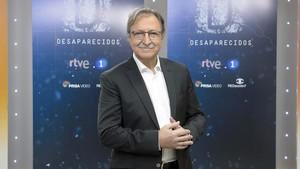 Paco Lobatón, director del nuevo programa de TVE-1 'Desaparecidos'.
