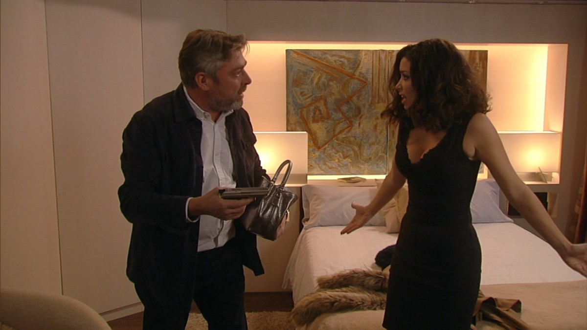 Pere Arquillué, en la serie de TV-3 La Riera.