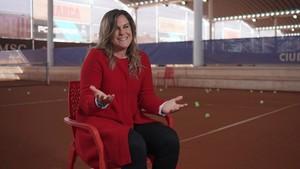 La tenista Magüi Serna, invitada en la nueva entrega de Amigas y conocidas.