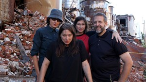 The Breeders, con Kim Deal en primer plano