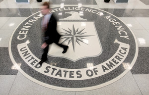 The lobby of the CIA Headquarters Building in Langley, Virginia, U.S. on August 14, 2008. REUTERS/Larry Downing/File Photo TPX IMAGES OF THE DAY