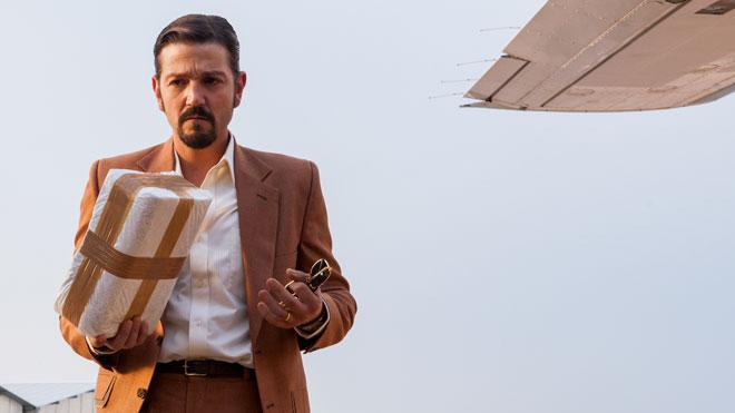 Diego Luna, en el tráiler oficial de Narcos: México, de Netflix.