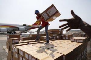 La ayuda humanitaria enviada a Venezuela por el gobierno chino.
