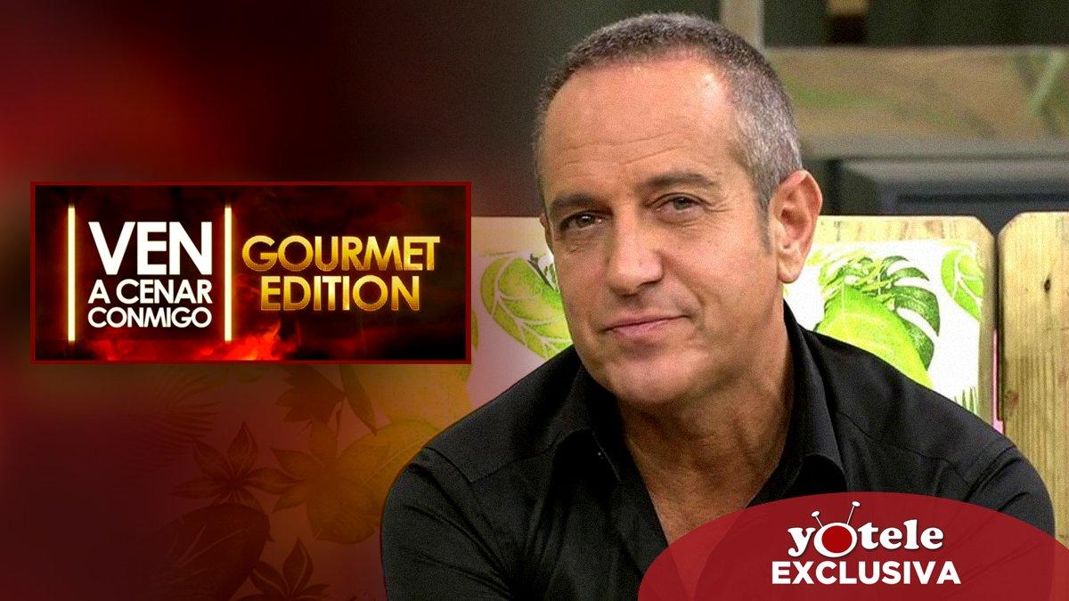 Víctor Sandoval, el invitado que faltaba de la nueva edición de 'Ven a cenar conmigo: Gourmet edition'