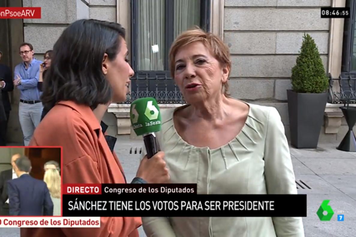 """El enfado de Celia Villalobos con laSexta: """"Os vais a aburrir sin darle caña al PP todo el puto día"""""""