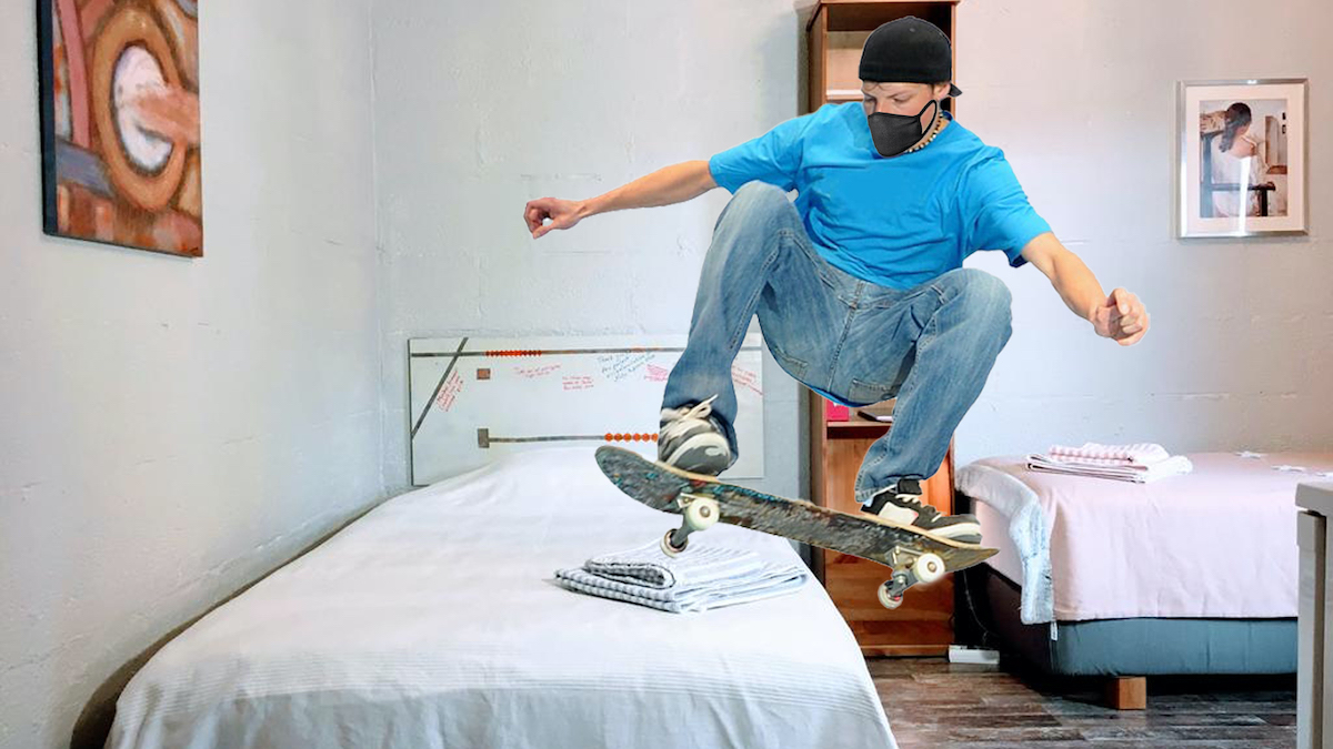 #YoPatinoEnCasa: así pasan la cuarentena los 'skaters'.