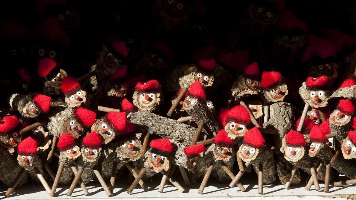 Pequeños tions para celebrar la Navidad.