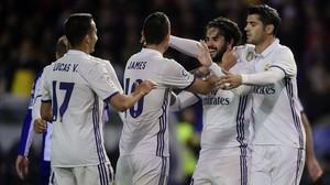 L'altre Madrid s'exhibeix contra el Deportivo (2-6)