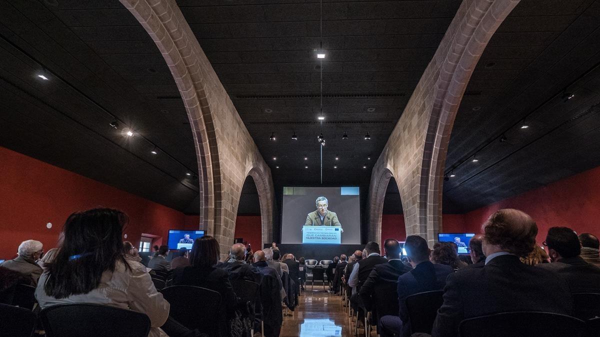 Jornada sobre innovación en la economía celebrada en la Casa Llotja de Mar.