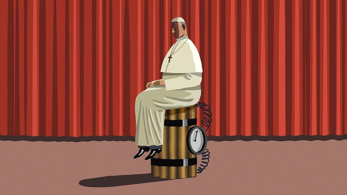 Misiles ultras contra el Papa