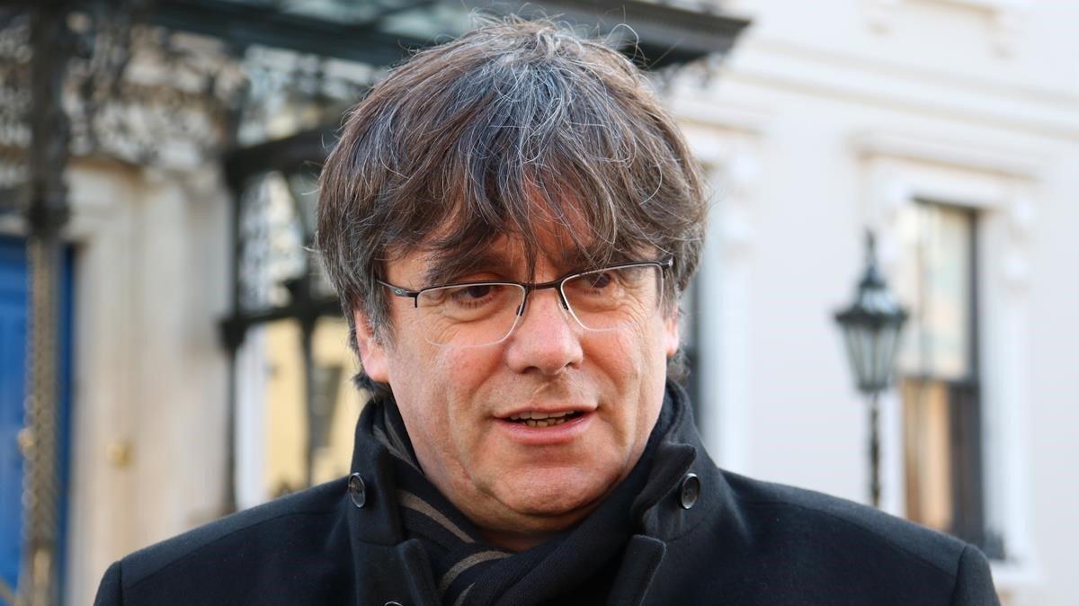 Carles Puigdemont, en una imagen tomada en Dublín.