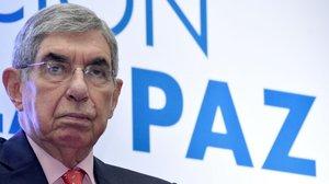 El expresidente de Costa Rica Óscar Arias, en agosto del 2017.