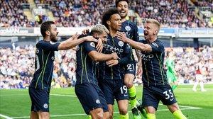 Un gol d'Agüero manté el City al capdavant