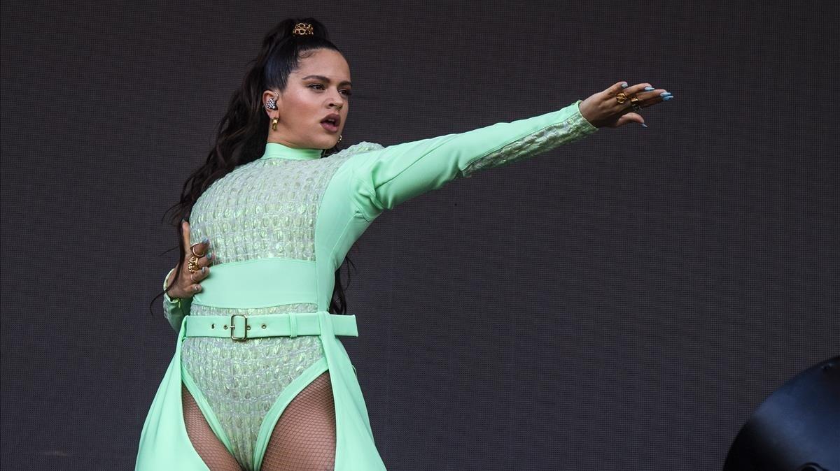 Rosalía segueix com un coet: cinc nominacions als Grammy Llatins