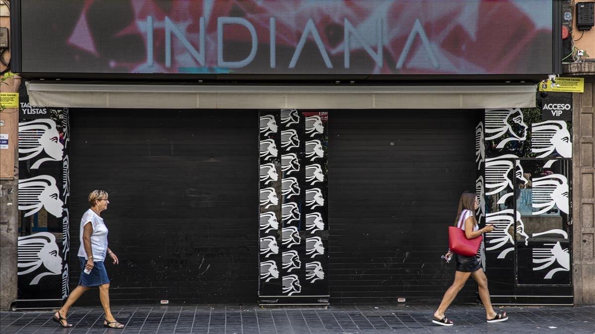Fachada de la discoteca de València en la que presuntamente ocurrieron los hechos