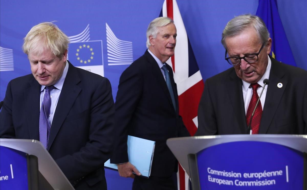 Suspeses les negociacions del 'brexit' per un cas de coronavirus