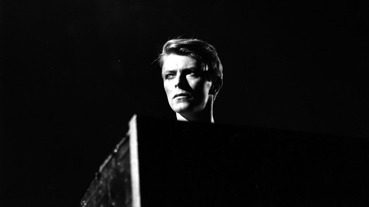 David Bowie en una imagen de 1978.