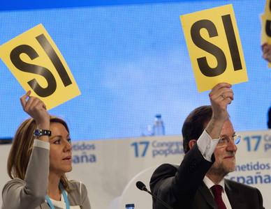 Cospedal y Rajoy... sí