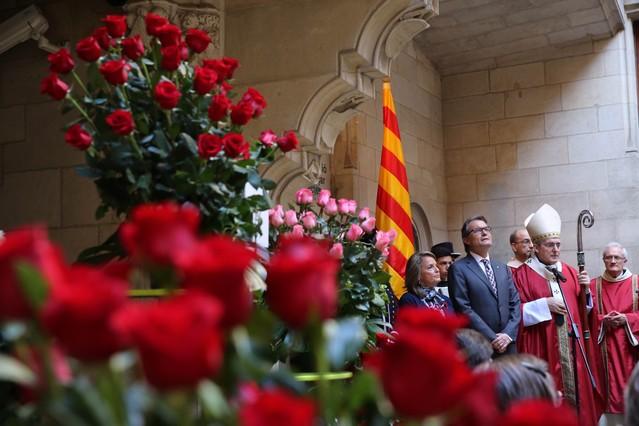 Misa de Sant Jordi en la Generalitat.