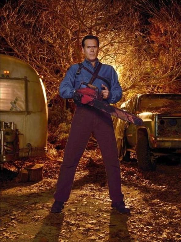 Bruce Campbell, en 'Ash vs. Evil Dead'.