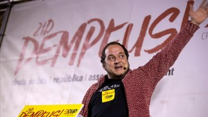 El exdiputado de la CUP David Fernàndez.