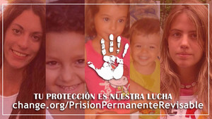 Más de un millón de firma contra la derogación de la prisión permanente revisable
