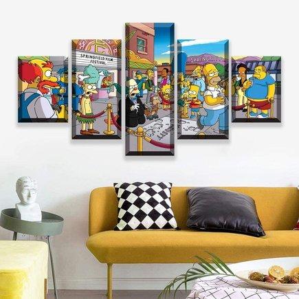 Cuadro Simpsons