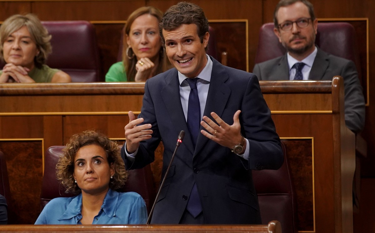 Casado acusa Delgado de mentir sobre Villarejo i li reclama explicacions
