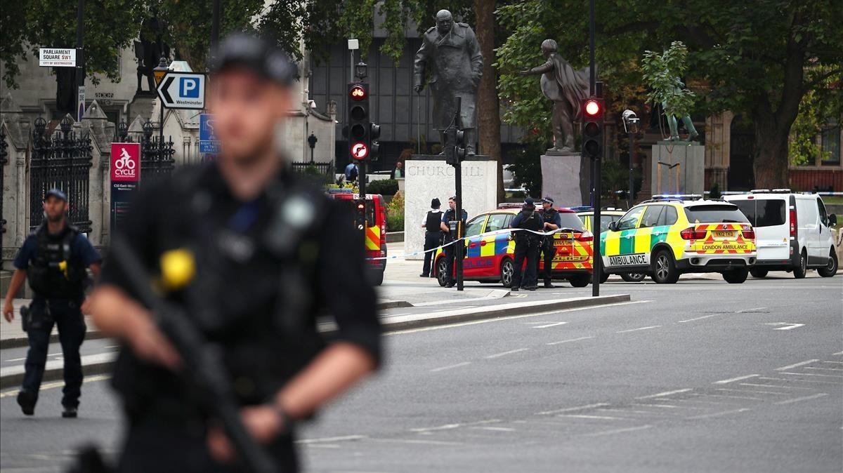 La policía ha acordonado la zona donde ha ocurrido el incidente.