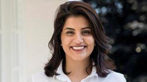 La activista feminista saudí Loujain Alhathloul