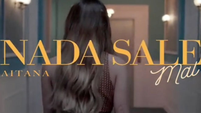 Aitana comparte un adelanto del videoclip de Nada sale mal.