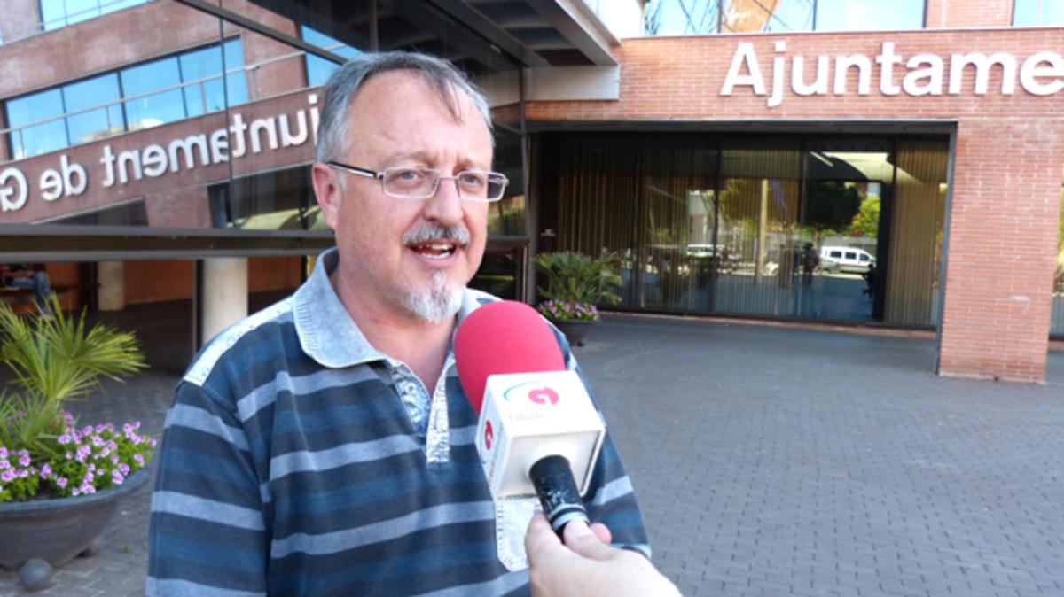 Albert Massana, portavoz de ERC-Gavà.