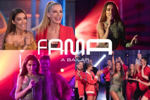 Eleni Foureira conquista la escuela de 'Fama a bailar': lo que no se vio por la tele de su primera actuación en España