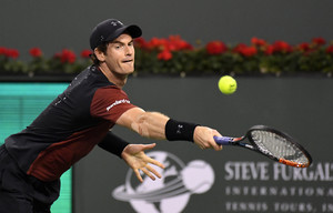 Andy Murray, durante un partido disputado este pasado marzo en el torneo de Indian Wells.