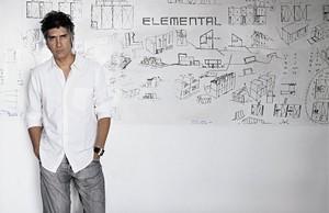 El arquitecto Alejandro Aravena, ganador del Premio Pritzker 2016