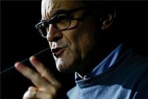 Artur Mas, en el homenaje a Companys del 2016.