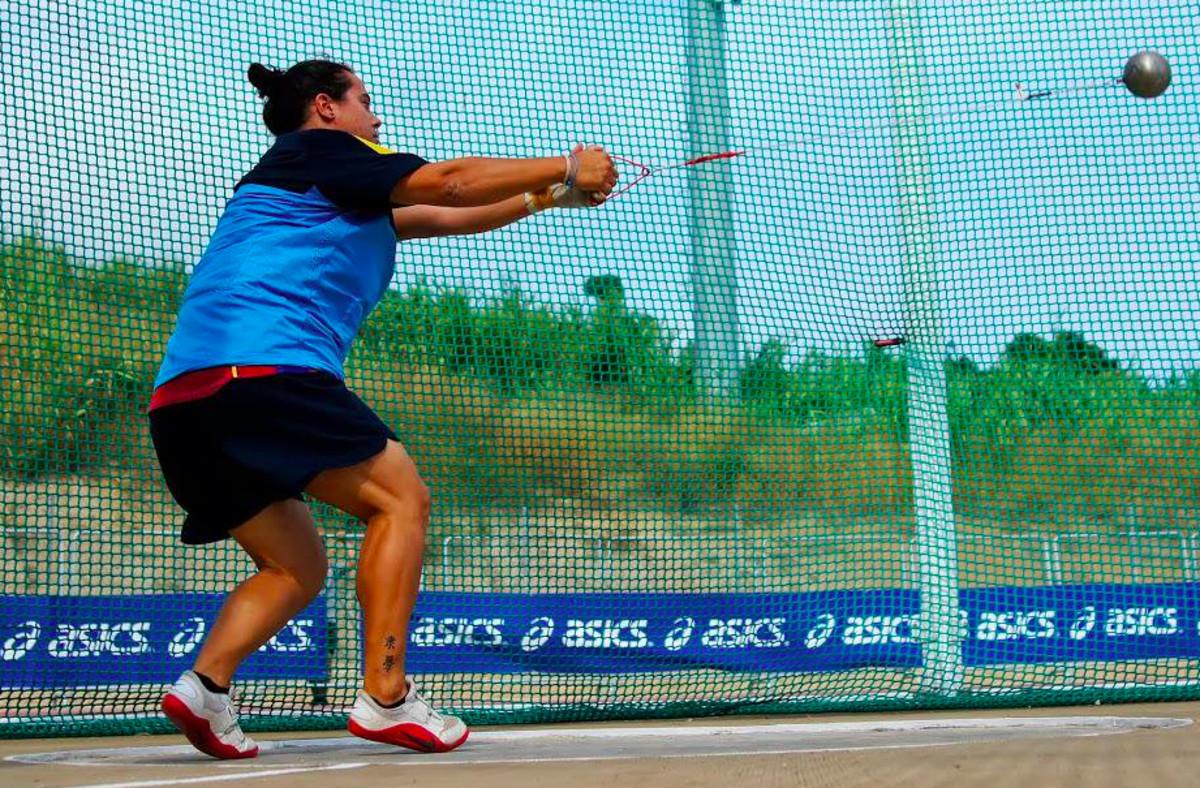 La atleta gavanense Laura Redondo logra el bronce en el Campeonato de España Absoluto