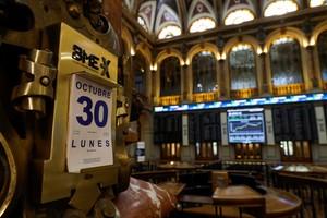 La Bolsa de Madrid, este lunes 30 de octubre.